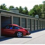 Storage containers big enough for vehicles