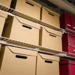 Using storage containers to archive business documents