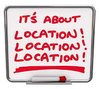 it.s about location location, ...