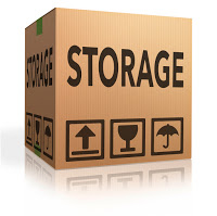 storage box storing spaces in garage lockers units or container with room and space for renting