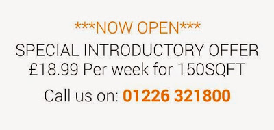 Introductory offer from the Boylin's Barnsley self store £18.99/week for 150sqft