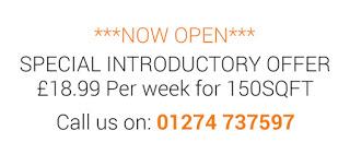 Intro offer Bradford £18.99 per Week