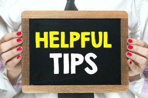 money saving self storage tips - helpful tips