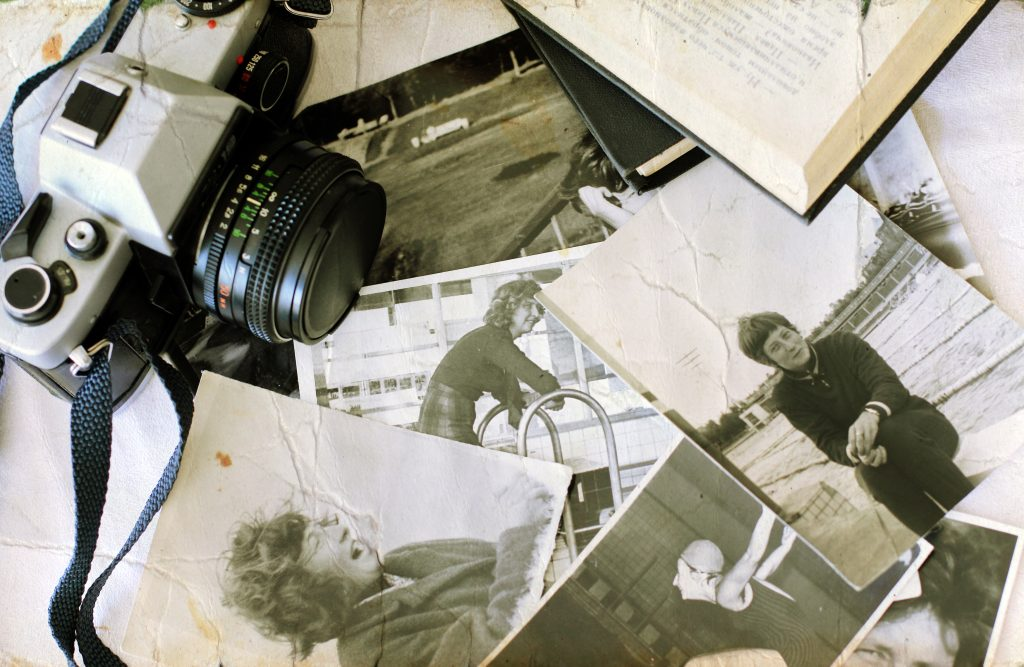 Art self storage tips - A Scattered Collection of Vintage Family Photographs