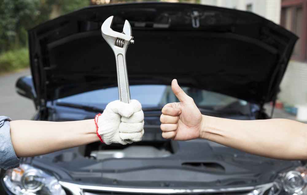 Car storage prpearations - mechanics thumbs up!