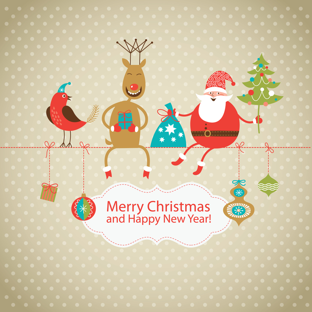 Christmas self storage - Merry Christmas and a Hap[py New Year