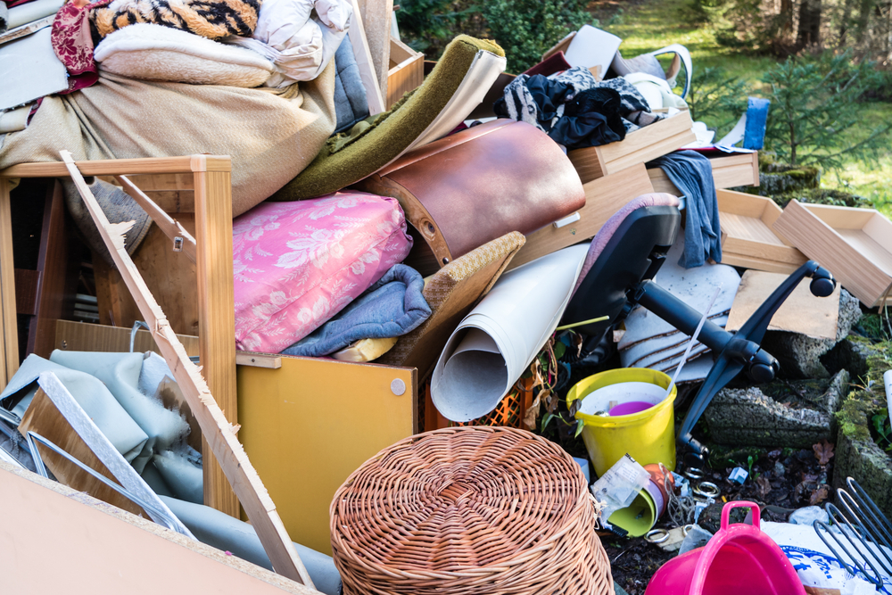 De-cluttering your home can free a lot of space.
