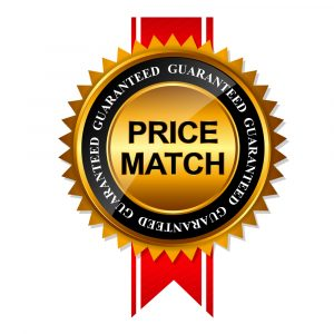 Price Match Garanteed
