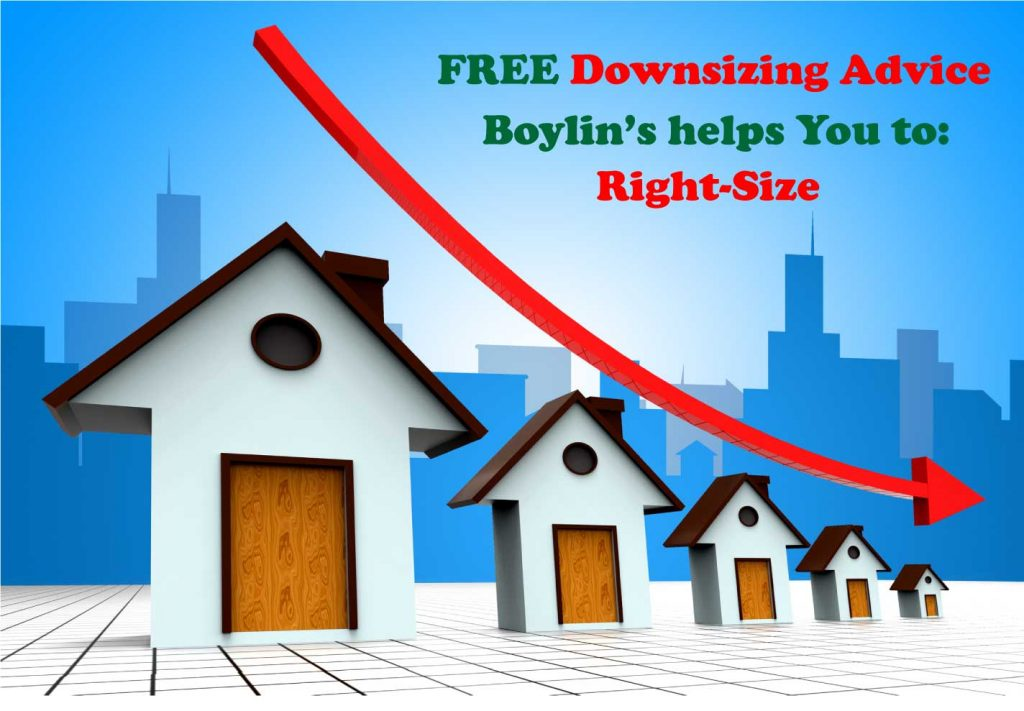 Are You Downsizing? Need advice on self storage? Boylin's will help you to right-size your next move.