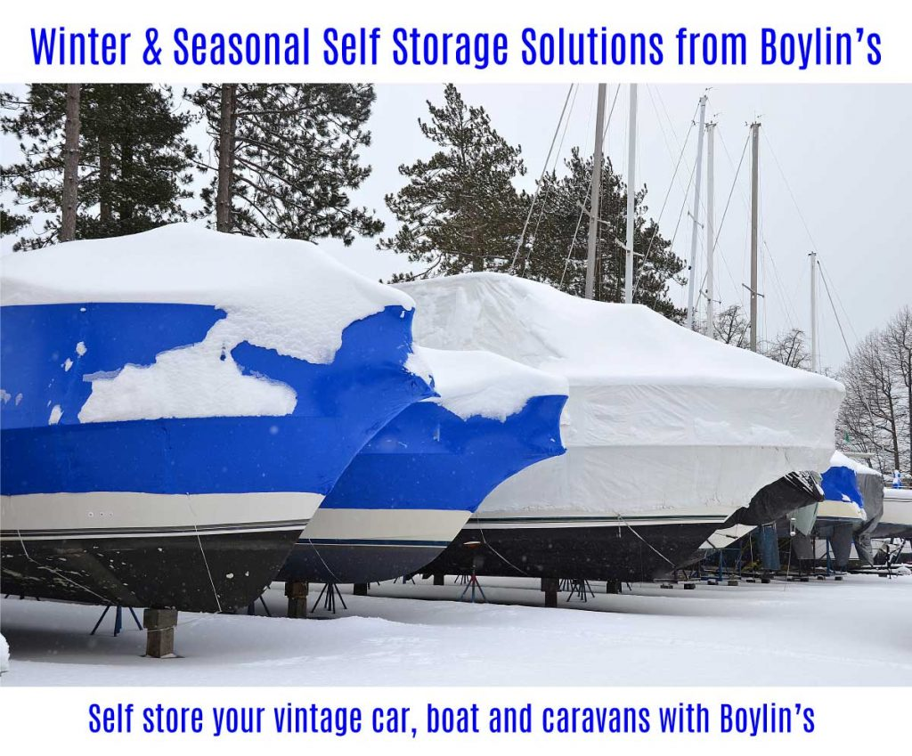 Winter self storage solutions by Boylin's Self Store