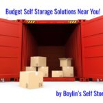 The Benefits of Renting a Self Store Unit @ Boylin's Self Store in 2021