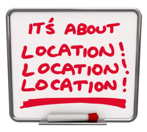 Self-storage top tips - Location, location, location