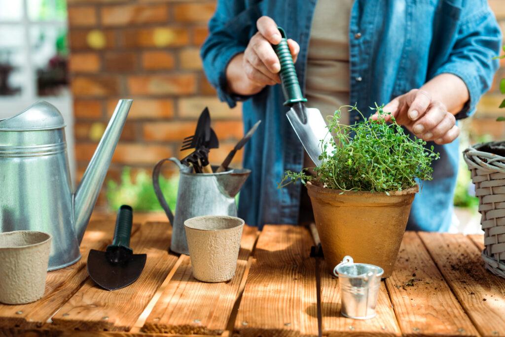Get Your Garden essentials out of self storage - Urban Gardening Tools